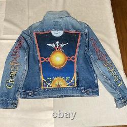 Vintage Hand Painted Levis Grateful dead Denim Jacket 90s LOT Art AMAZING Rare