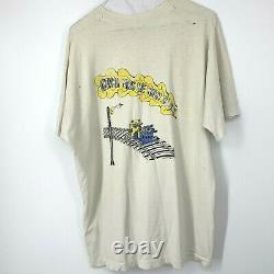 Vintage I Know You Rider Grateful Dead Bears Curious George T Shirt XL Rare