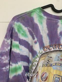 Vintage RARE 1995 GRATEFUL DEAD USA Tie Dye T-Shirt Size Mens XL Deadhead Bears