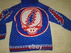 Vintage RARE Grateful Dead Sweatshirt Hooded Sweaters Sz L