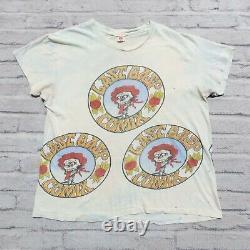 Vintage Rare 70s Last Gasp Comix Tshirt Single Stitch Band Tour Grateful Dead