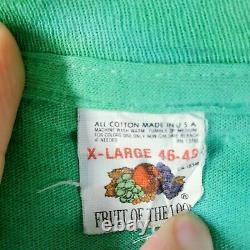 Vintage Vote Garcia 1992 MENS XL T SHIRT Grateful Dead Tee Single stitch RARE