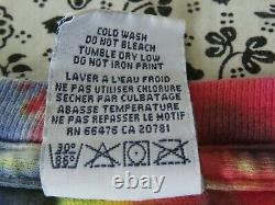 Vintage rare bootleg tommy hilfiger grateful dead tie dye longsleeve shirt L