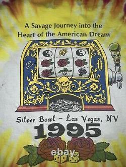 Vtg 1991 Fear And Loathing Grateful Dead Shirt Sz XL Tye Die Vintage Rare