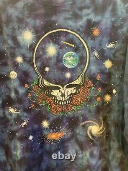 Vtg 1997 Grateful Dead Band Tee Space Your Face Long Sleeve Sz. XL Rare
