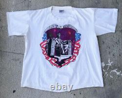 Vtg Grateful Dead 1991 Spring/Summer Tour Tshirt Sz XL Rare Made In USA Brockum