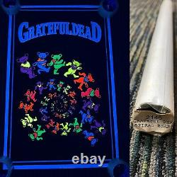 Vtg Grateful Dead Dancing Spiral Bears RARE 35x23 Blacklight Poster NEW Sealed
